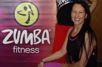 Zumba with Goldie